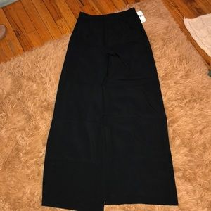 NWT: forever 21 high waisted black flare pants